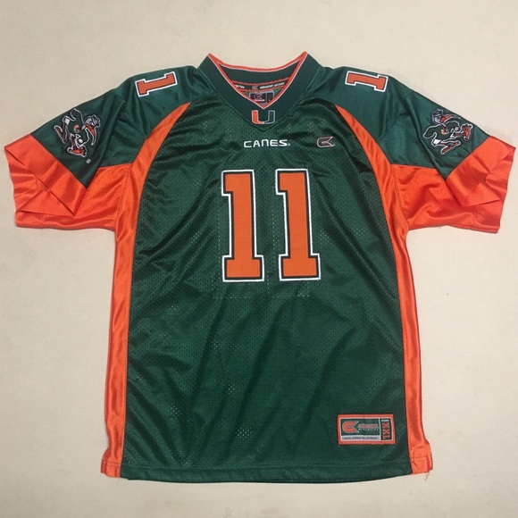 Colosseum Other - University of Miami - Youth Football Jersey 🏈 39f441431f